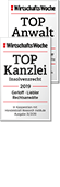 Top Kanzlei - Top Anwalt 2019