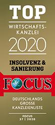 FOCUS TOP Wirtschaftskanzlei 2020