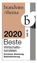 brand1 2020 Beste Wirtschaftskanzlei